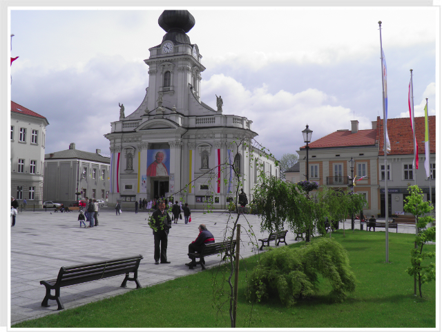Wadowice - birthplace of the Polish Pope